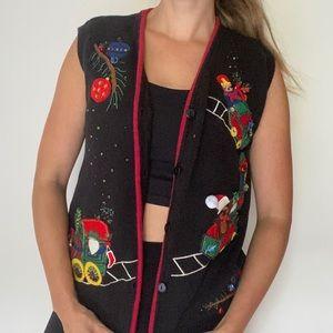 Christmas Sweater Vest